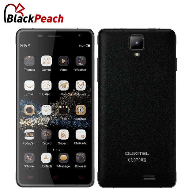 Оригинальный Oukitel K4000 PRO 4600 мАч большой аккумулятор MTK6735 5 дюймов HD IPS четырехъядерных процессоров Android 5.1 4 г LTE мобильный сотовый телефон 2 ГБ 16 ГБ