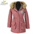 Autumn Parkas Winter Jacket Women Coats Female Outerwear Plus Size Casual Long Down Cotton Wadded Lady