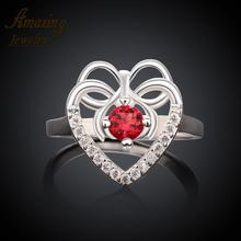 R001-A 925 Silver plated fashion ring for women jewelry accessories nickle free