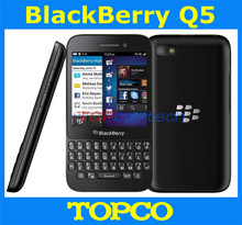 "Original unlocked Blackberry Q5 mobile phone Dual-core 3.1"" touch screen+QWERTY 3G&4G GSM 5.0MP 2GRAM+8GROM freeshipping(China (Mainland))"