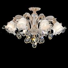 modern led chandelier italy murano glass chandelier handcraft glass modern crystal chandelier k9 crystal led bedroom lighting(China (Mainland))