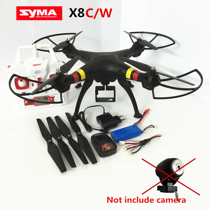 Syma X8W/X8C drone without camera quadrocopter syma x8 dron Drones quadcopter RC Helicopter Can add action camera VS MJX X101(China (Mainland))