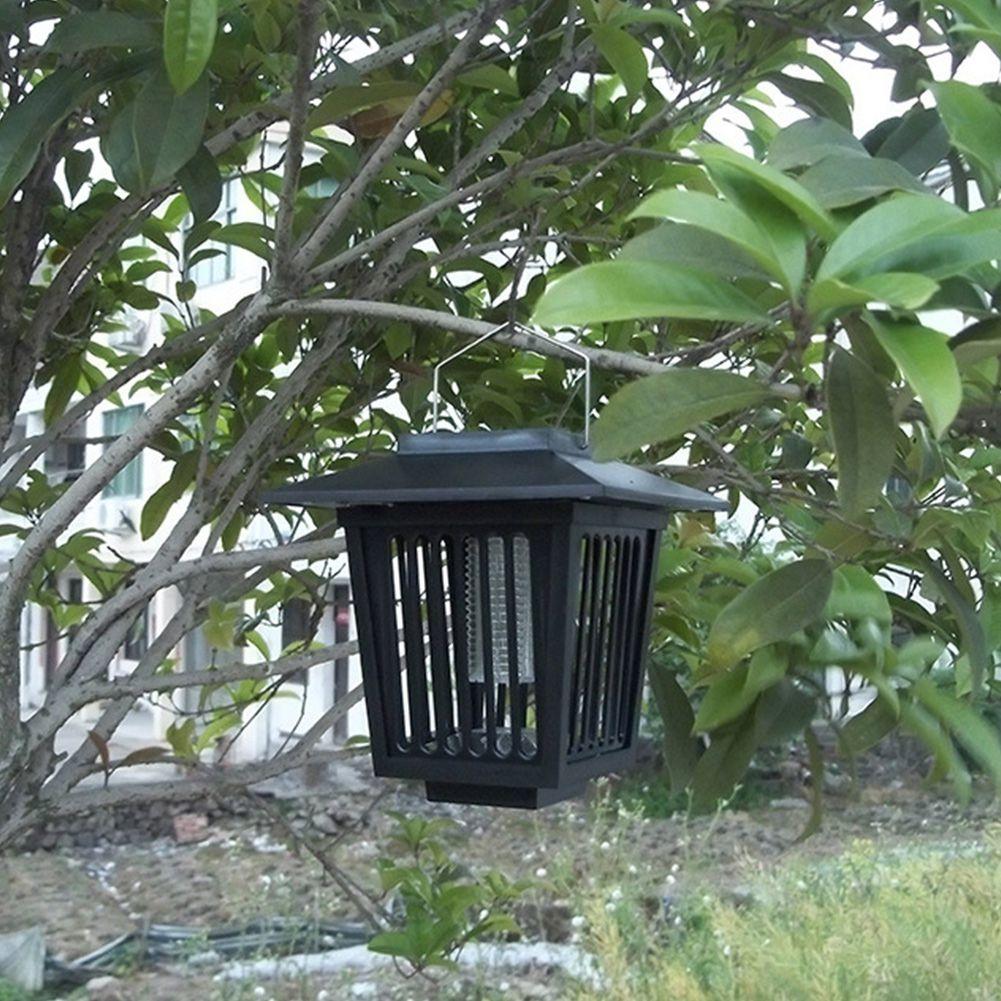 Mosquito repellent lamp Solar energy lawn lamp Solar energy Mosquito killer lamp outdoor insecticidal lamp(China (Mainland))