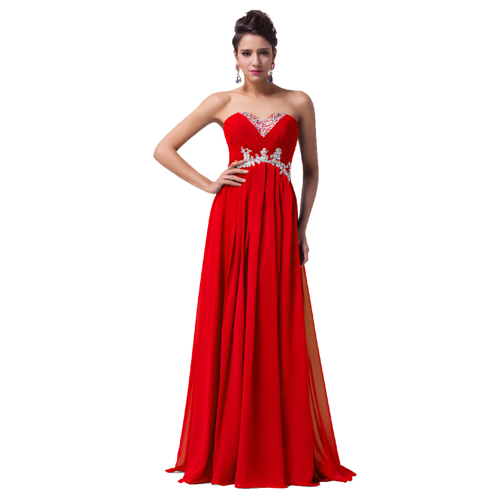 buy robe de soiree 2017 red evening gown elegant long dress bride party gowns. Black Bedroom Furniture Sets. Home Design Ideas