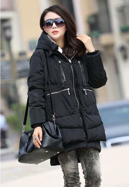 Women Thick Coat 2016 Winter coat women's down jacket Top quality Large size Wholesale