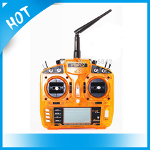 FSFLY 2.4GHz 8CH T-i8 Transmitter with PostBack fuction Large LCD Screen and F801 Receiver MODE1 MODE2