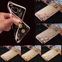 Buy Flora Bling Diamond Case Coque Samsung Galaxy J3 2016 Case Silicone Crystal Soft TPU Cover Samsung J3 J5 A5 2017 S7edge for $2.78 in AliExpress store