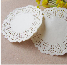 SS02, 4.5Inch Vintage White Hollowed Lace Pattern Paper Crafts for DIY Scrapbooking/Card Making/Wedding Decoration(China (Mainland))