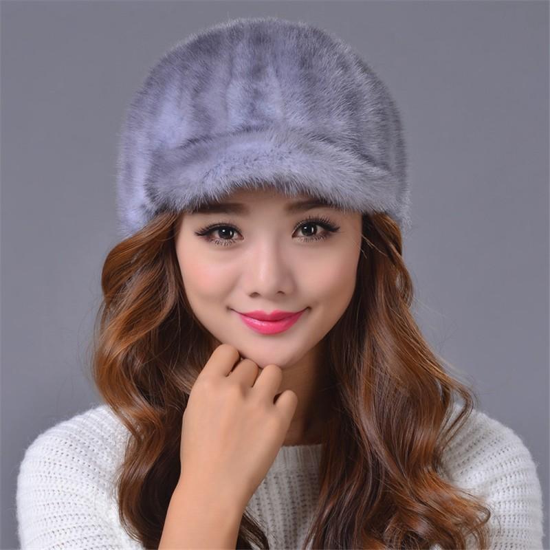 2016 Hot Sales Hat Fashion Warm Skullies Fur Hat Fur Hat For Women Winter Gorros Mujer Inviterno Knittded Hats Free Shipping