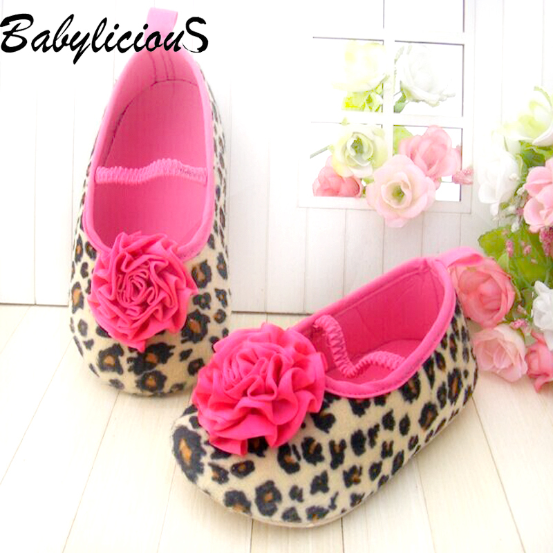 1Pair New 2015 Fashionable First Walkers Bebe Shoe Sapatos Infantil Leopard Baby Shoes for Girls<br><br>Aliexpress