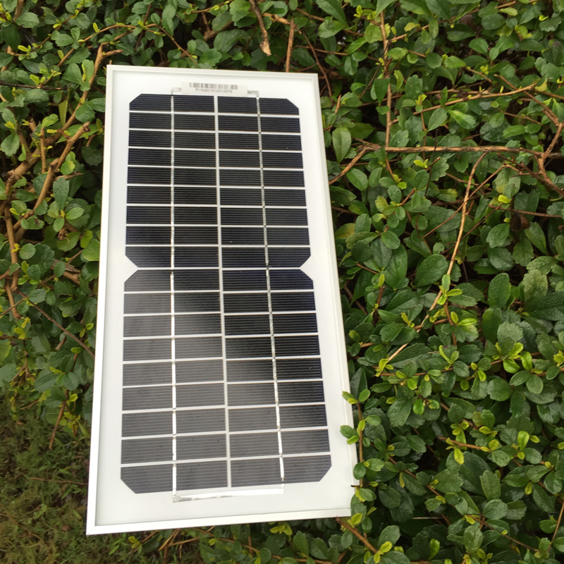 Factory Price Solar Panel 5W 12V18V 10 PCs/Lot Photovoltaic Plate Solar Energy Board Module Portable Charger Waterproof SFM5W(China (Mainland))