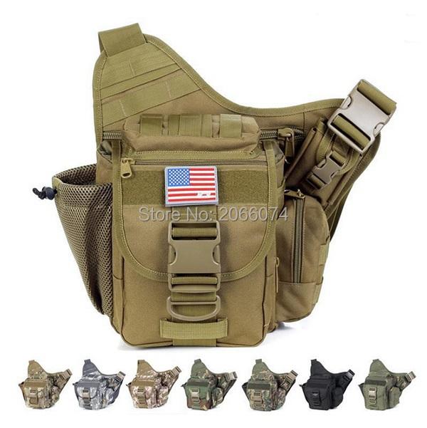Strengthen edition outdoor sacheted professional camera messenger camera multifunctional men bag lightweight durable Army 50pcs(China (Mainland))