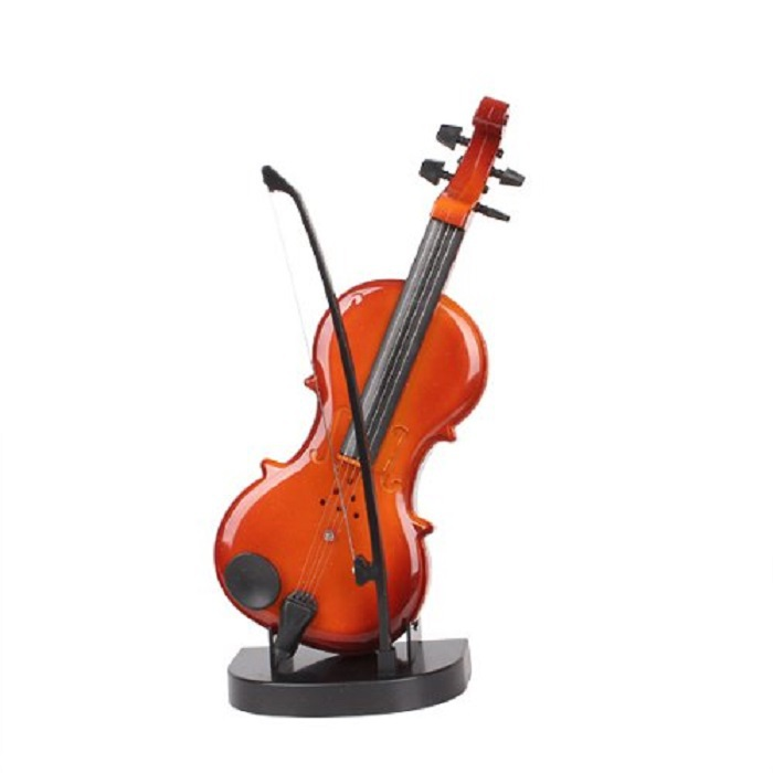 Creative Gift Mini Music Violin Kids Children Simulation Plastic Toy Model Children's Toys(China (Mainland))