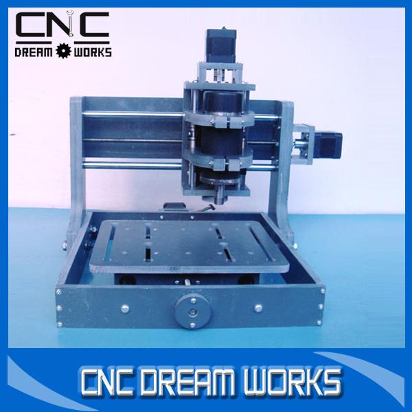 Mini cnc milling machine 2020B DIY pcb milling machine for wood engraving 300w spindle motor ER11 cnc wood lathe router(China (Mainland))