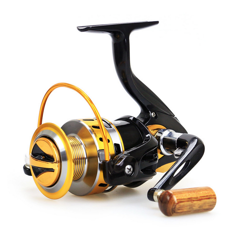 Exclusive Quality Metal Fishing Spinning Reel 5.5:1 Speed Ratio 12BB Fishing Reel YB2000-7000 for Sea River Lake Fishing Tackle(China (Mainland))