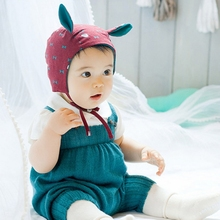 Cute Jumpsuit Romper For Baby Newborn Knit Overall Infant Cotton Bib Kids Pants Boys Girls Climbing Clothes One-pieces Clothing(China (Mainland))