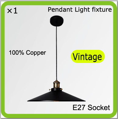 Free shipping Manufacturer pendant light fixtures for E27 screw led bulbs copper 110mm wire led down light holder ST64 bulbs<br><br>Aliexpress