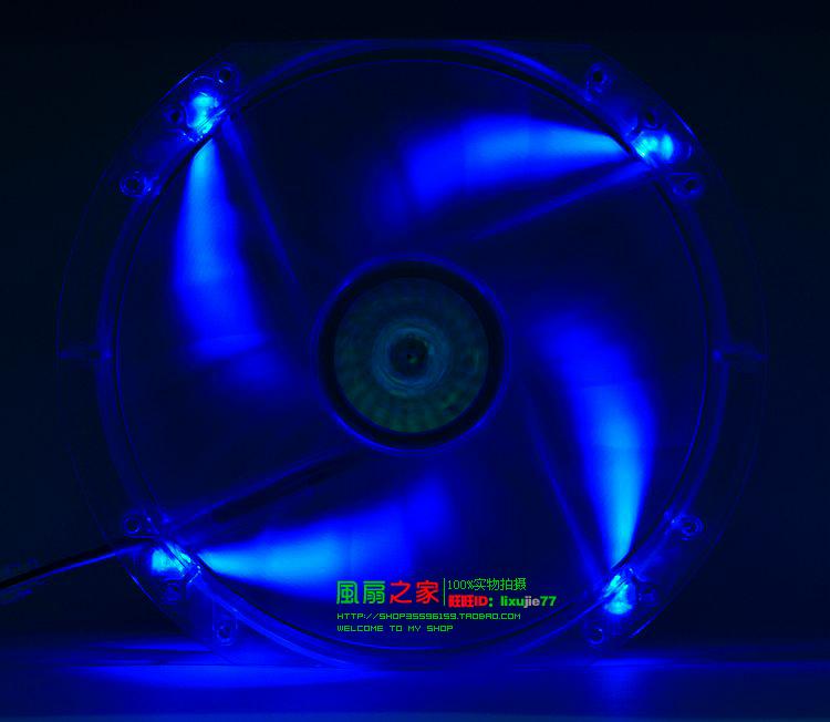 Free Shipping CoolMaster A23030-07CB-3MN-F1 23CM 20CM 230mm 12V 0.30A  chassis fan side fan fan oversized red Mute LED<br><br>Aliexpress