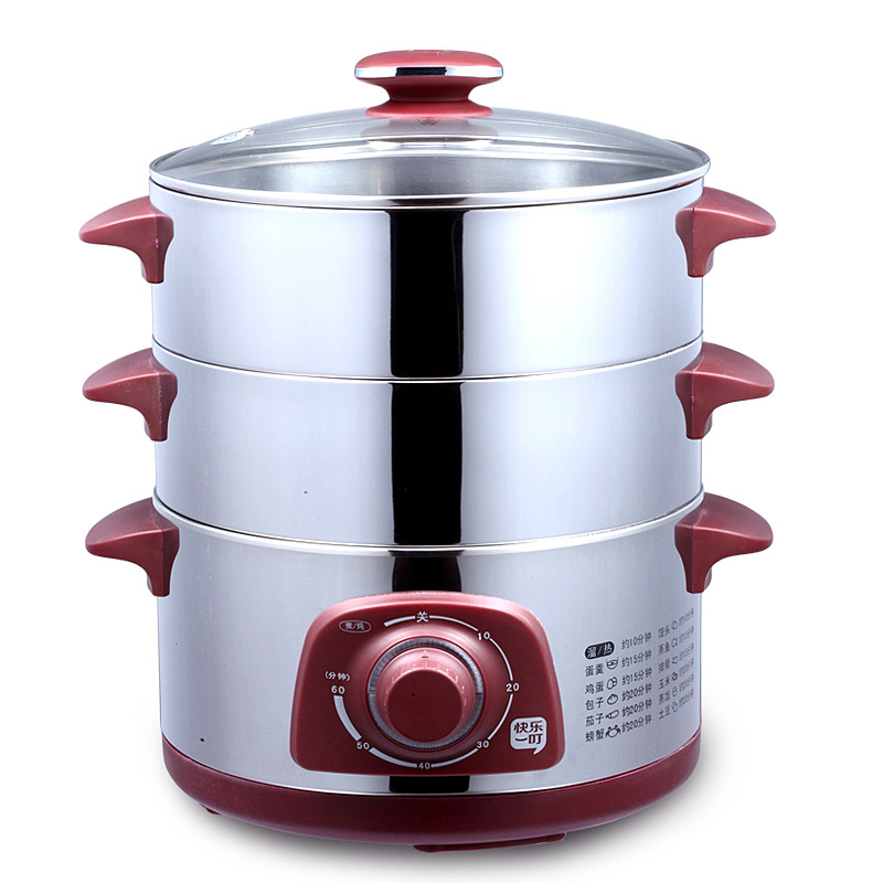 Stainless Steel Electric Vegetable Steamer ~ Dzg j full stainless steel food steamer electric