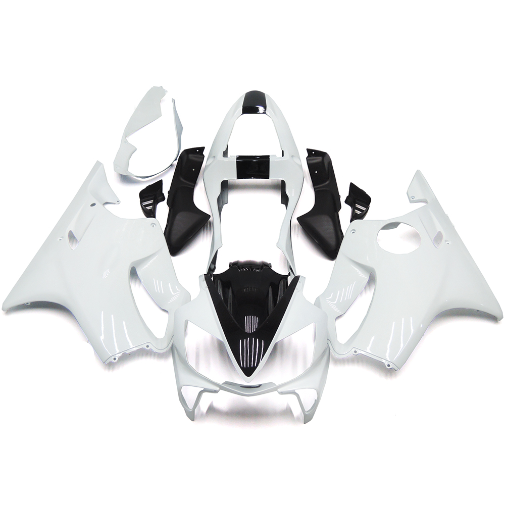 Motorcycle Fairing Kit For Honda CBR600 F4i Year 01 02 03 2001 2002 2003 ABS Plastic Injection Bodywork Full Cowling White Black(China (Mainland))