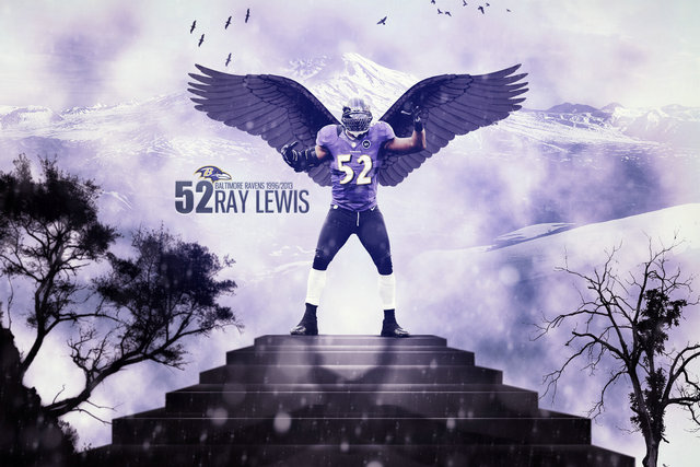 Ray Lewis NFL Football Baltimore & Ravens 52 Sill Canvas wall poster Sports Gym pictures and printings 08(China (Mainland))