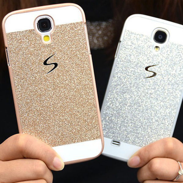 Luxury Bling Glitter Skin Glam Case For Samsung Galaxy S5 S4 S3 Plastic Back Cover celular Fundas Capa Para coque phone cases(China (Mainland))