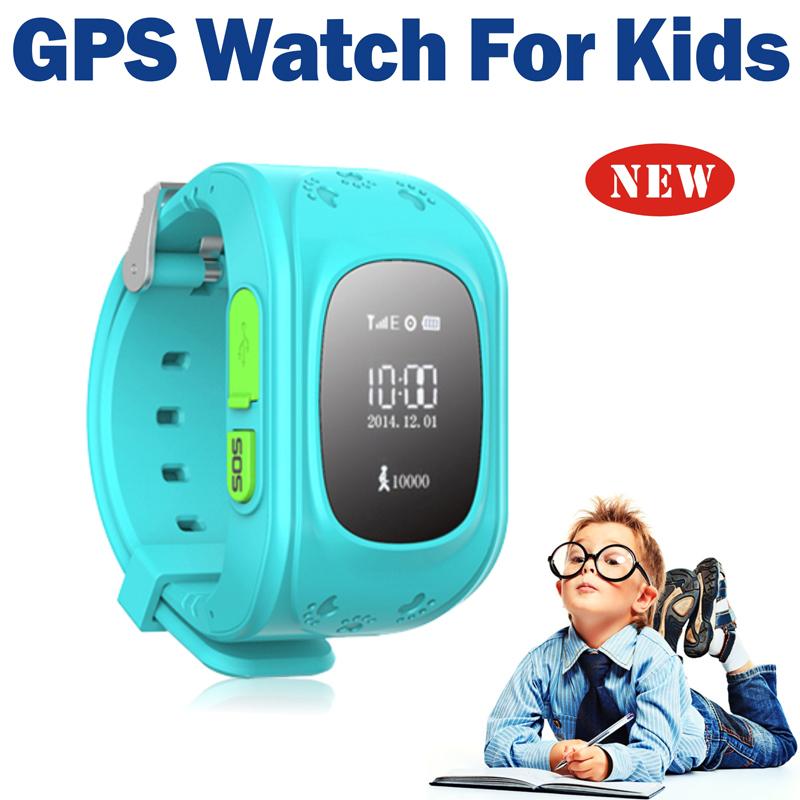 2015 Mini GPS Tracker Watch For Kids SOS Emergency Anti Lost Smart Mobile Phone App Bracelet Wristband Two Way Communication(China (Mainland))