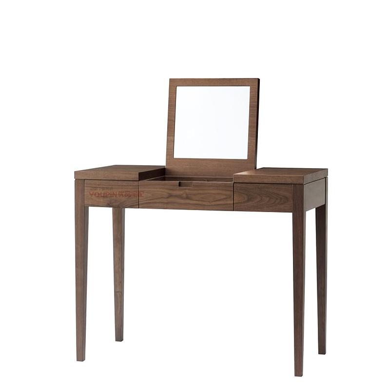 Walnut quality custom oak dresser mirror modern minimalist design new wood finishes Changzhou National Shanghai(China (Mainland))