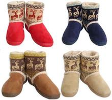 2014 nuevo botines calientes cortos damas felpa zapatos de nieve para para invierno espesar artificial más tamaño 37-41 envío gratis(China (Mainland))