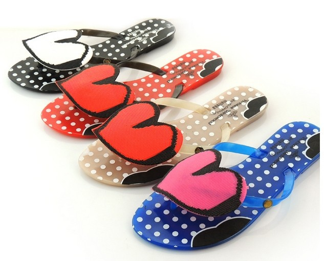 Hot Sales 2014 Melissa Harmonic Peach Hearts Flip-Flops Bowknot Jelly Shoes Women Sandals - Fashion Tribe 0001 store