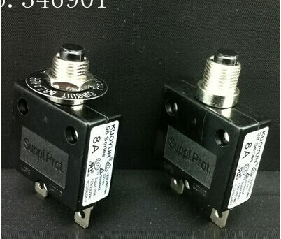 [SA] KUOYUH 98 series high current overload current protection device 3A ~ 50A circuit breaker --10pcs/lot(China (Mainland))