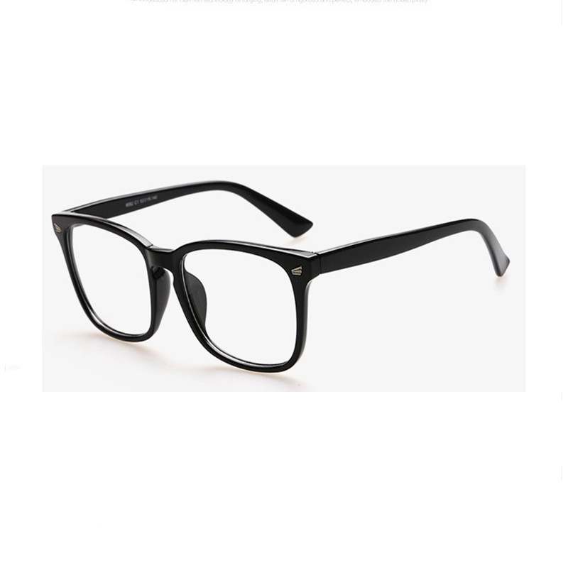 2016 fashion big glasses frame men and women retro vintage decorative frames without lenses round glass frame oculos de grau(China (Mainland))