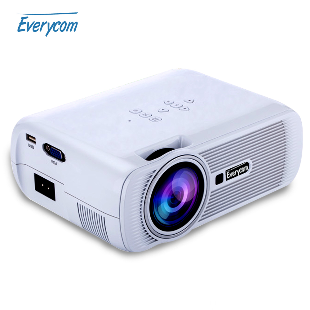 2016 hot everycom x7 mini video projector full hd 1080p for Hd projector