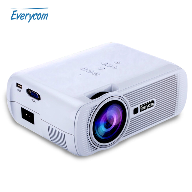X7 Home Cinema Theater Multimedia Led Lcd Projector Hd: Aliexpress.com : Buy 2016 HOT Everycom X7 Mini Video