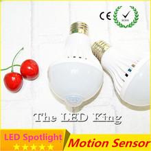Buy LED PIR Motion Sensor Lamp 5w 220v Led Bulb 7w 9w 12w Auto Smart Led PIR Infrared Body Sound + Light E27 Motion Sensor Light for $1.29 in AliExpress store