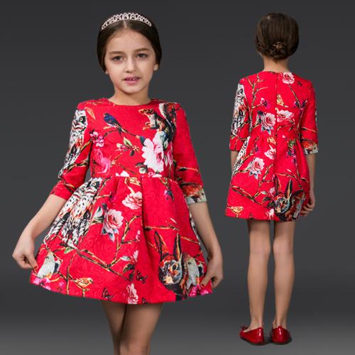 Платье для девочек Name brand 2015 HYF-DS03-6 сумка brand name 6 2015 100
