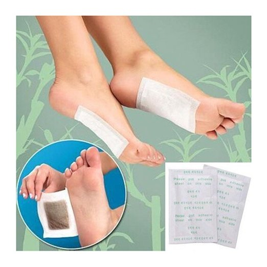 2pcs/bag Detox Foot Pad Patch Feet Care Body Massager Bamboo Herbal Plaster Stress Relief Help Sleep Health Care(China (Mainland))