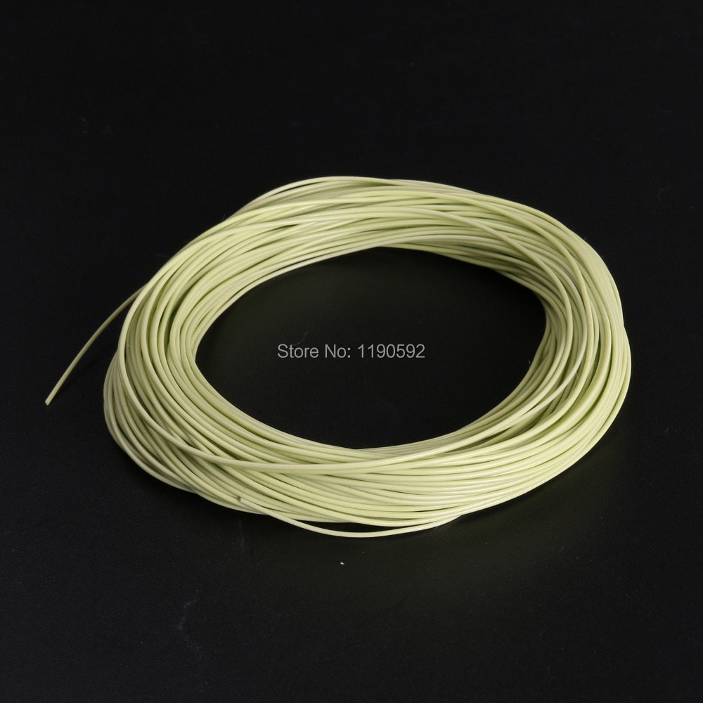 Fly Fishing Line Double Tapered Design Fly Line Moss Green Color Fly Line(China (Mainland))