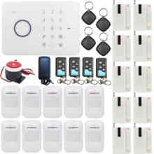 T16 Chuango G5 RFID Access Touch Keypad IOS/Android APP GSM SMS Wireless Intelligent Home/Office Security Alarm Burglar System(China (Mainland))