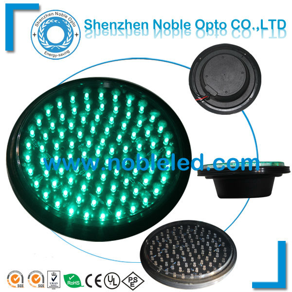 road safety 200mm led traffic light clear lens module in green color(China (Mainland))