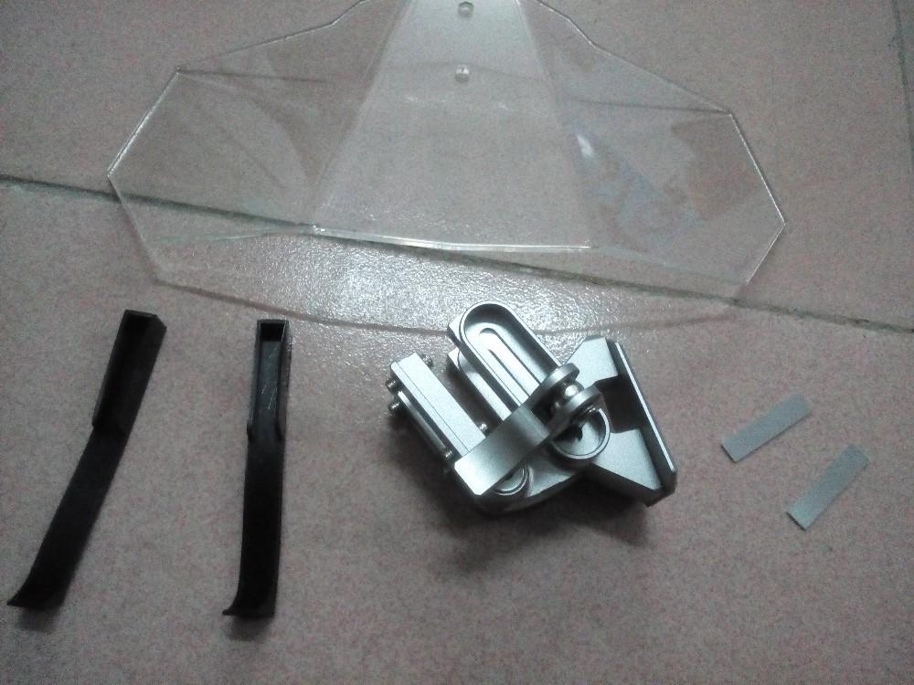 Купить Воздуха НОВЫЙ регулируемая лобовое стекло для Honda Yamaha Suzuki Kawasaki KTM Ducati Aprilia BMW модели с лобового стекла Универсальный