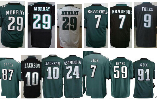29 DeMarco Murray cheap amrican football game jerseys Darren Sproles football jersey embroidery letter shipped by epacket(China (Mainland))