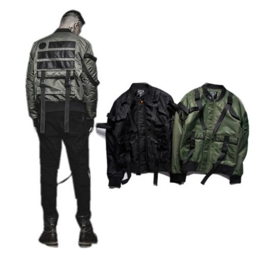 Warhawk cotton padded jacket Fall/Winter Army MA1 outerwear Military uniform AIR Force street jackets men clothing baseball man(China (Mainland))