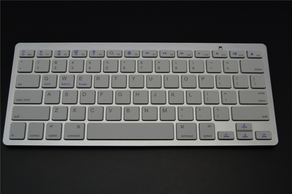 Ultra Thin Wireless Bluetooth V3.0 Keyboard for iPad,Android Tablets,PC Computer Laptop,For iMac Macbook,Windows XP/7/8(China (Mainland))