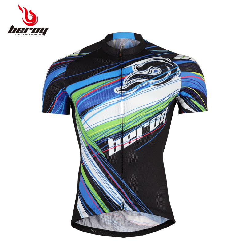 Brand Design Riding Short Sleeve T-shirts jerseys Men Cycling Jersey Ropa Ciclismo Bicycle Bike Breathable Quick Dry Clothing
