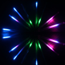 Christmas lights neon waterfall lights colorful pop decorative lights waterproof LED lantern series meteor shower =1pcs a lot(China (Mainland))