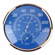 Superior qualityLarge Round Thermometer Hygrometer Temperature Humidity Monitor Meter Gauge(China (Mainland))