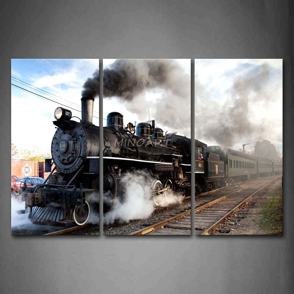 ... Train Wall Art ...