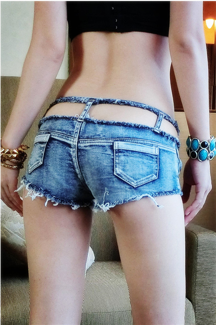 Super Short Jean Shorts - The Else
