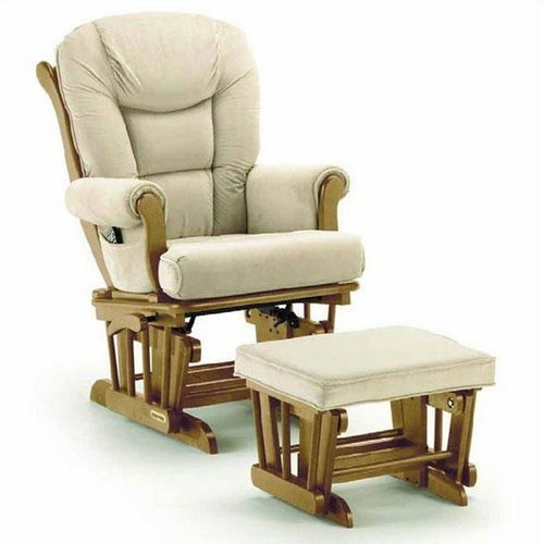 All solid wood rocking chair old pregnant woman shook her lounge chair